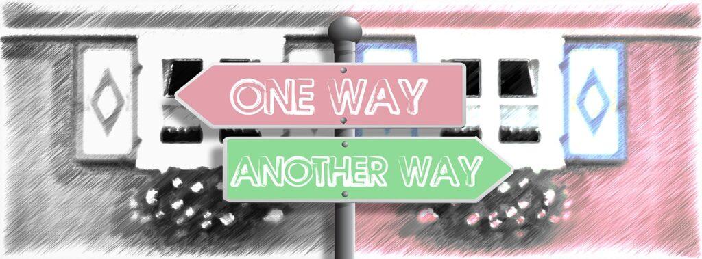Bodelning, ett sätt att gå skilda vägar.