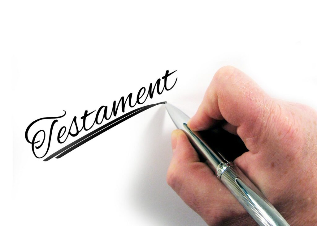 Testamente till fast pris. Emvald Juridik hjälper dig att upprätta testamentet.